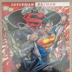 Cómics: SUPERMAN / BATMAN MUNDOS MEJORES (RAGS MORALES-RAFAEL ALBUQUERQUE...) RÚSTICA PLANETA. Lote 132560018