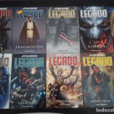 Cómics: STAR WARS COMIC - LEGADO - NÚMEROS 1 AL 10. Lote 132658902