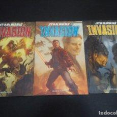 Cómics: COMICS STAR WARS - INVASIÓN - COMPLETA. Lote 132686502