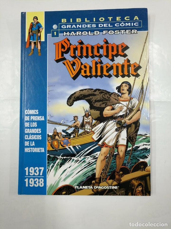 BIBLIOTECA GRANDES DEL COMIC. 1. HAROLD FOSTER. PRINCIPE VALIENTE. 1937 - 1938. PLANETA. TDKC24 (Tebeos y Comics - Planeta)