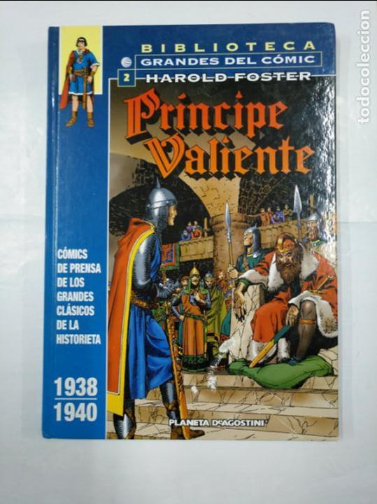 BIBLIOTECA GRANDES DEL COMIC. 2. HAROLD FOSTER. PRINCIPE VALIENTE. 1939 - 1940. PLANETA. TDKC24 (Tebeos y Comics - Planeta)