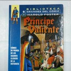 Cómics: BIBLIOTECA GRANDES DEL COMIC. 2. HAROLD FOSTER. PRINCIPE VALIENTE. 1939 - 1940. PLANETA. TDKC24. Lote 132721762