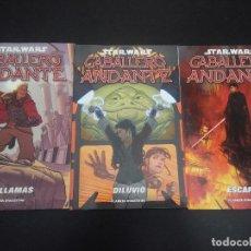 Cómics: COMICS STAR WARS - CABALLERO ANDANTE - COMPLETA 3 NÚMEROS. Lote 133427290