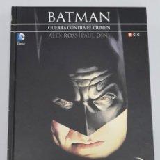 Cómics: BATMAN : LA GUERRA CONTRA EL CRIMEN / ALEX ROSS - PAUL DINI / DC - ECC. Lote 133562814