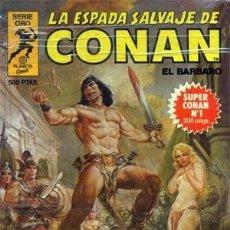 Cómics - CONAN LA ESPADA SALVAJE. ORO TOMOS. COLECCION COMPLETA DE 16 TOMOS - 134095238