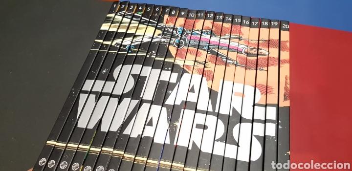 SUELTOS PREGUNTAR EXCELENTE ESTADO COLECCION COMPLETA STAR WARS CLASICOS LEYENDAS PLANETA (Tebeos y Comics - Planeta)