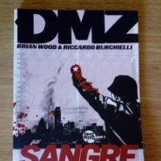 Cómics: DMZ. SANGRE EN EL JUEGO. VERTIGO.. Lote 135225682