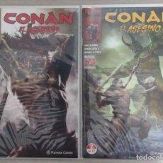 Cómics: CONAN EL ASESINO NUMEROS 1+2 PUBLICADOS EN GRAPA POR PLANETA CÓMIC. Lote 135248058