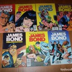 Cómics: JAMES BOND - COLECCIÓN COMPLETA - NÚMEROS 1 AL 7 - AÑOS 1988-1989 - PERFECTO ESTADO. Lote 135356638