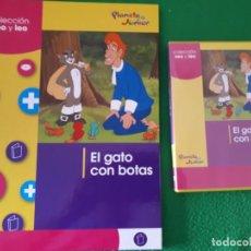 Cómics: EL GATO CON BOTAS – COLECCIÓN VEO Y LEO - PLANETA JUNIOR. Lote 135427986