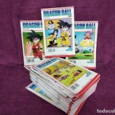 Cómics: GRAN LOTE DE 39 COMICS DE DRAGON BALL, SERIE BLANCA, TORIYAMA, PLANETA, 1992. Lote 135658935