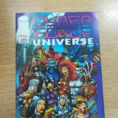 Cómics: CYBER FORCE UNIVERSE ESPECIAL LIBRO DE FICHAS. Lote 136120430