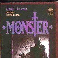 Cómics: TODOMANGA: MONSTER (NAOKI URASAWA PRESENTA HORRIBLE STORY) LIBRO 2 ASESINATO. NUEVO DE TIENDA.. Lote 136525774