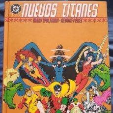 Cómics: CLASICOS DC NUEVOS TITANES INTEGRAL 01. MARV WOLFMAN, GEORGE PEREZ. TOMO PLANETA. Lote 136525958