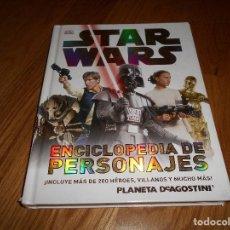 Cómics: STAR WARS ENCICLOPEDIA DE PERSONAJES PLANETE 2013 B.E.. Lote 137333410