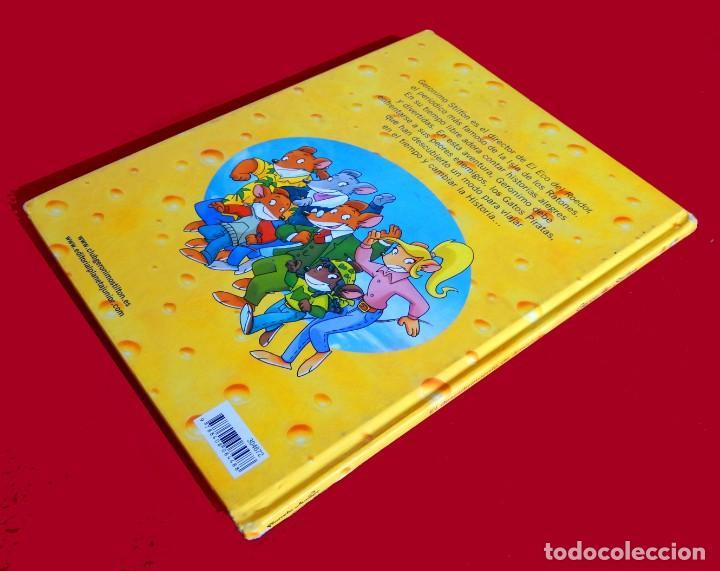 Cómics: GERONIMO STILTON, Nº 1- EL DESCUBRIMIENTO DE AMÉRICA-PLANETA 2009-FIRMADO Y DEDICADO POR TEA STILTON - Foto 8 - 137358234