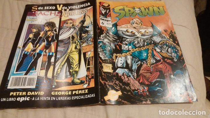 SPAWN VOL1- Nº6- IMAGE WORLD PLANETA DEAGOSTINI (Tebeos y Comics - Planeta)