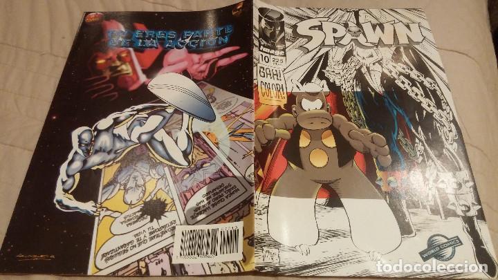 SPAWN VOL1- Nº10- IMAGE WORLD PLANETA DEAGOSTINI (Tebeos y Comics - Planeta)