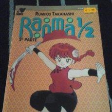 Cómics: RANMA 1/2 2 PARTE, N. 7. Lote 137485070