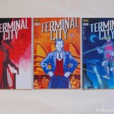 Cómics: TERMINAL CITY + GRAFFITI AEREO - 5 NUMEROS - NORMA - COLECCION VERTIGO - 75-79-83 + 127-129. Lote 137633526