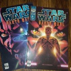 Cómics: COMICS - STAR WARS DARTH MAUL - PLANETA 2001 - COMPLETA 2 EJEMPLARES. Lote 137818990