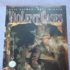 Cómics: VIOLENT CASES. NEIL GAIMAN. PLANETA DE AGOSTINI. NUEVO. Lote 138930981