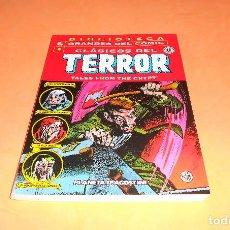 Cómics: CLASICOS DEL TERROR Nº 4. BIBLIOTECA GRANDES DEL COMIC. BUEN ESTADO.. Lote 139134006