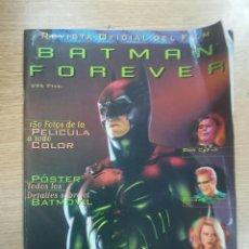 Cómics: BATMAN FOREVER REVISTA OFICIAL DEL FILM. Lote 139139004