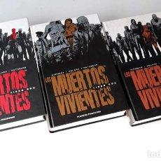 Cómics: LOS MUERTOS VIVIENTES - TOMOS 1-2-3 EDICIÓN INTEGRAL - PLANETA. Lote 139291422