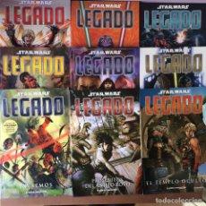 Cómics: STAR WARS LEGADO - COMPLETO 15 NUMEROS EN PERFECTO ESTADO - PLANETA. Lote 139358730
