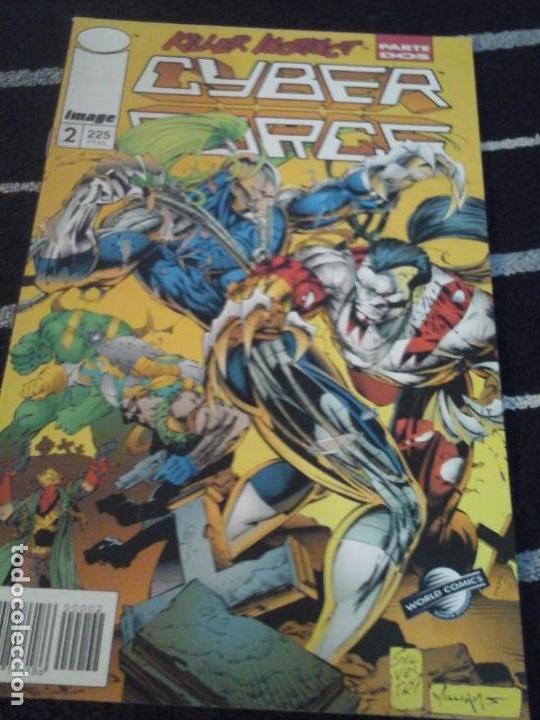 CYBER FORCE N.2 (Tebeos y Comics - Planeta)