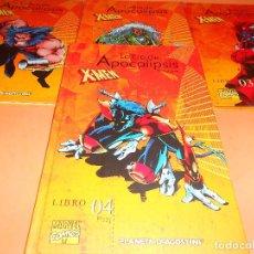 Cómics: LA ERA DEL APOCALIPSIS X-MEN Nº 1,2,3 Y 4 DE 12 - TOMO - ED. PLANETA.. Lote 140221254