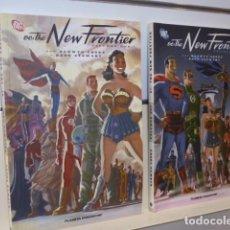 Cómics: DC THE NEW FRONTIER COMPLETA 2 TOMOS - PLANETA OFERTA (ANTES 26,00 €). Lote 140470770