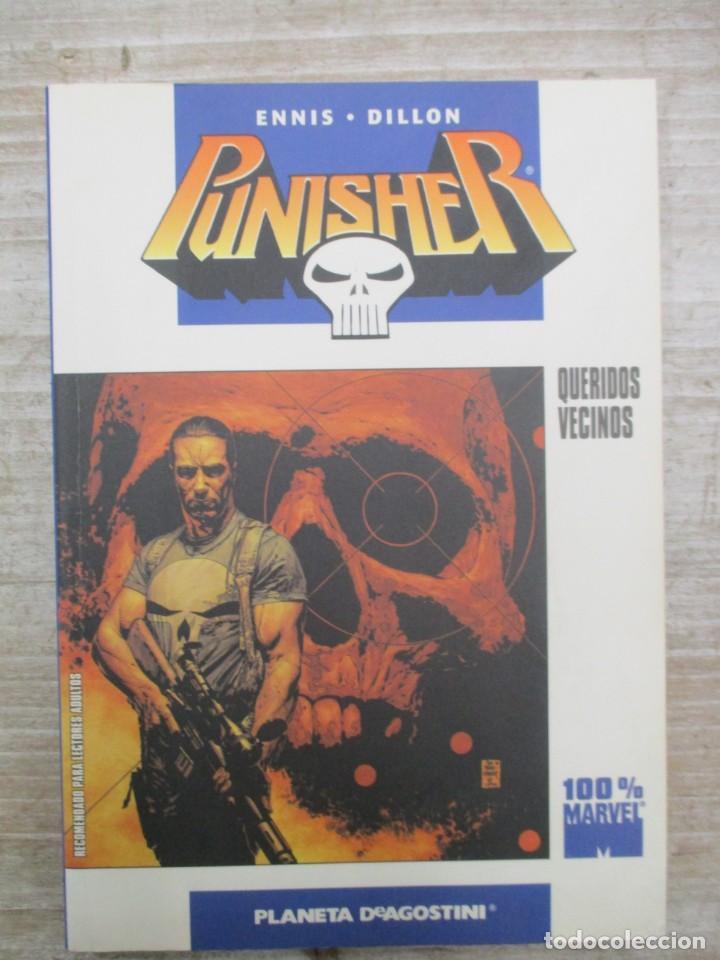 PUNISHER - EL CASTIGADOR - QUERIDOS VECINOS - 100 % MARVEL - PLANETA DEAGOSTINI (Tebeos y Comics - Planeta)