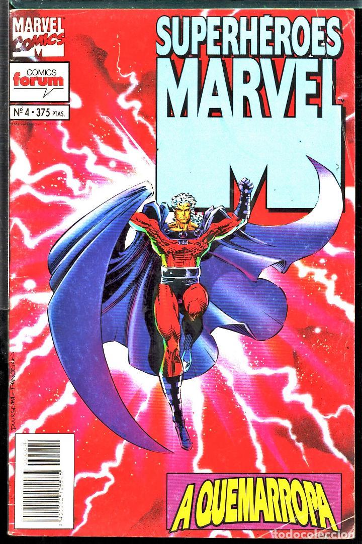 TEBEOS-COMICS CANDY - SUPERHEROES MARVEL - 4 - FORUM - RARO - *AA99 (Tebeos y Comics - Planeta)