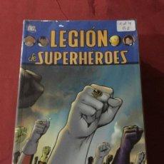 Cómics: LEGION DE SUPER HEROES TOMO 1 AL 4 MUY BUEN ESTADO REF.785. Lote 142894034