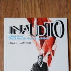 Cómics: INAUDITO. VOLUMEN 1: TEMPORADA DE FANTASMAS HAMBRIENTOS. Lote 143269506