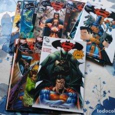 Cómics: BATMAN SUPERMAN 1 AL 22 COMPLETA PLANETA. Lote 143280082
