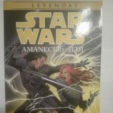 Cómics: STAR WARS.LEYENDAS.AMANECER DE LOS JEDI. Lote 143940622