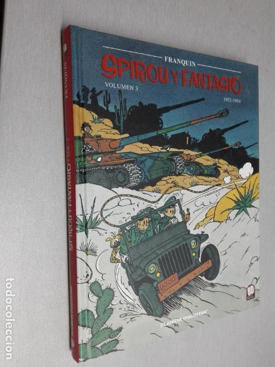 SPIROU Y FANTASIO VOLUMEN 3 / FRANQUIN / PLANETA DEAGOSTINI 2003 (Tebeos y Comics - Planeta)