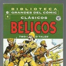Cómics: BIBLIOTECA GRANDES DEL COMIC: CLÁSICOS BÉLICOS 4, 2004, PLANETA DEAGOSTINI, BUEN ESTADO. Lote 144762866