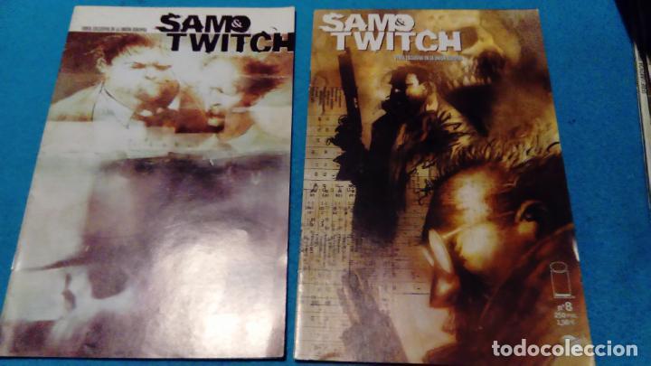 SAM & TWITCH NUMEROS 7 Y 8 - IMAGE COMICS (Tebeos y Comics - Planeta)