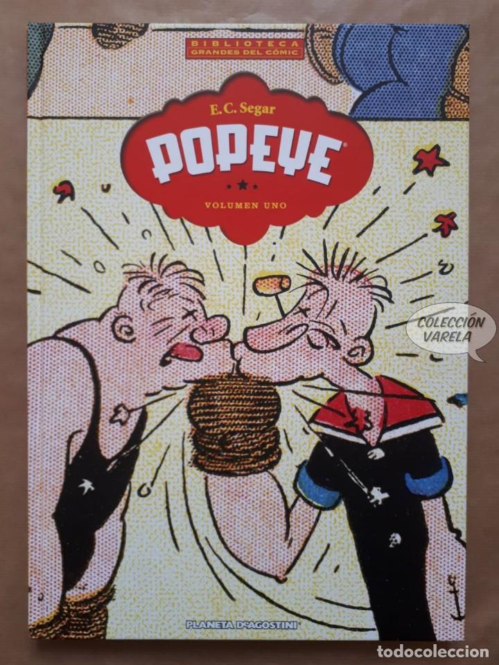 POPEYE - VOLUMEN 1 - E.C. SEGAR - BIBLIOTECA GRANDES DEL CÓMIC - PLANETA - JMV (Tebeos y Comics - Planeta)
