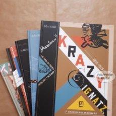Cómics: KRAZY & IGNATZ - TOMOS 1 A 5 - GEORGE HERRIMAN - PLANETA - BIBLIOTECA GRANDES DEL CÓMIC - JMV. Lote 146900058