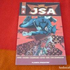 Cómics: JSA VOL. 1 Nº 6 ( GEOFF JOHNS GOYER KIRK ) ¡MUY BUEN ESTADO! PLANETA DC . Lote 147031538