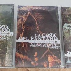Cómics: LA COSA DEL PANTANO - ALAN MOORE ¡ COMPLETA 3 TOMOS ! EDICION DELUXE - VERTIGO - ECC. Lote 269210748