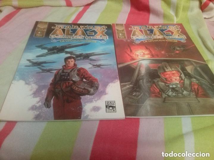 STAR WARS ALA-X ESCUADRON REBELDE LA OPOSICION REBELDE COLECCION COMPLETA (2 TOMOS) (Tebeos y Comics - Planeta)