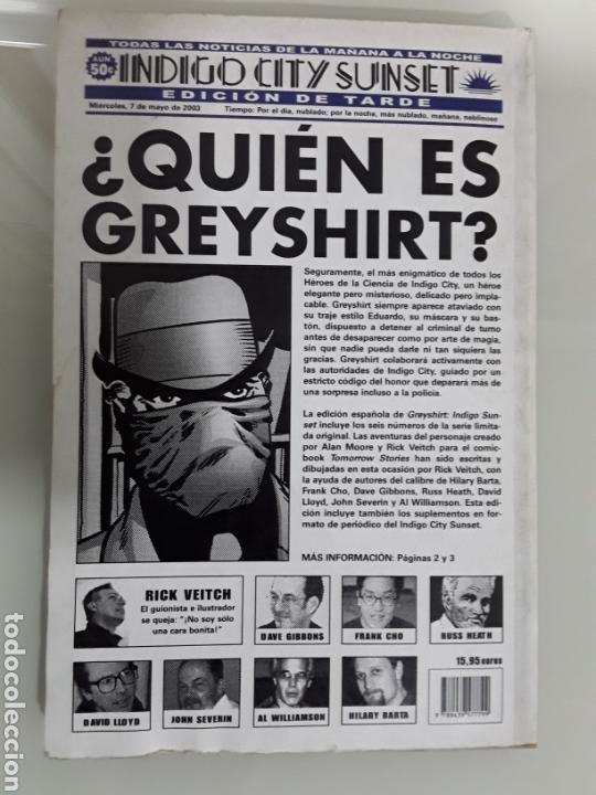 Cómics: GREYSHIRT : INDIGO SUNSET Ed. PLANETA - Foto 2 - 147629874