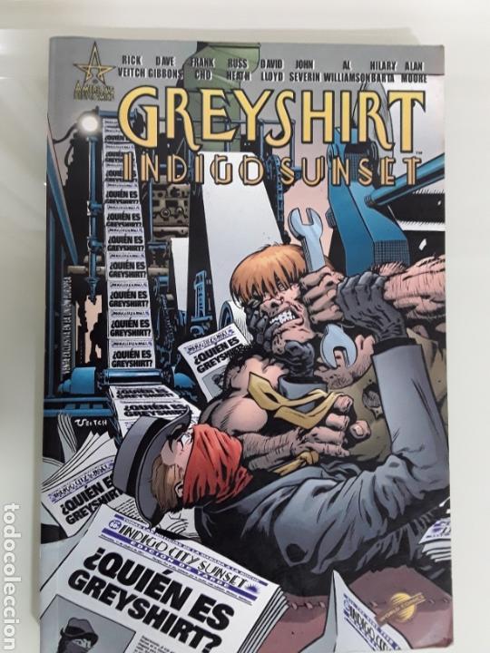 GREYSHIRT : INDIGO SUNSET ED. PLANETA (Tebeos y Comics - Planeta)