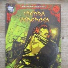 Cómics: BATMAN ARKHAM : HIEDRA VENENOSA - Nº 6 - D.C. COMICS / PLANETA DEAGOSTINI. Lote 147693206